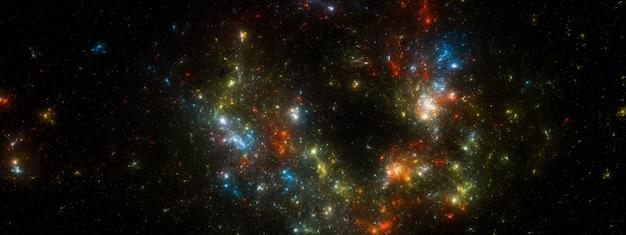 Ster veld achtergrond. sterrenhemel achtergrondstructuur