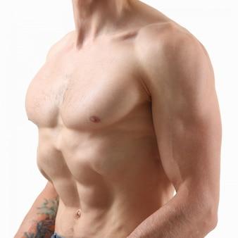 Sterke herenpers dankzij dieet en constante training