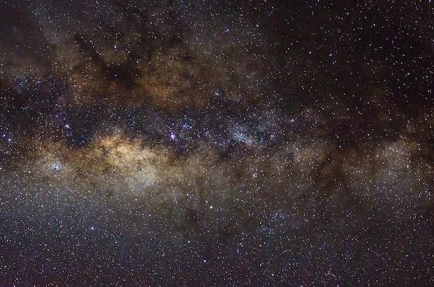 Sterren en sterrenstelsel universum zwarte sterrenhemel achtergrond
