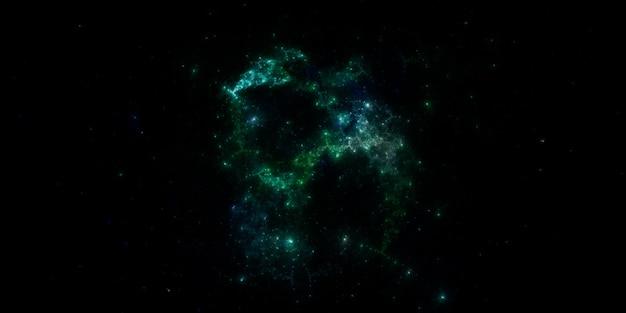 Sterrenveldachtergrond sterrenhemel achtergrondstructuur in de ruimte