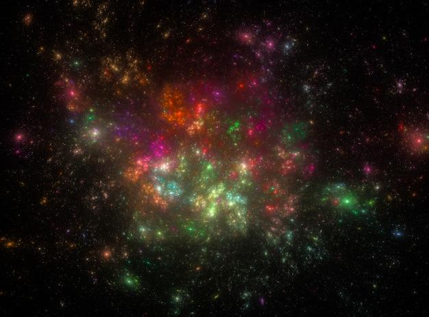 Sterrige kosmische ruimtetextuur als achtergrond
