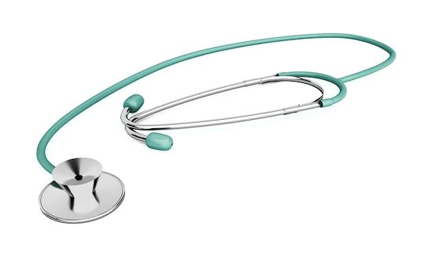 Stethoscoop op een witte achtergrond