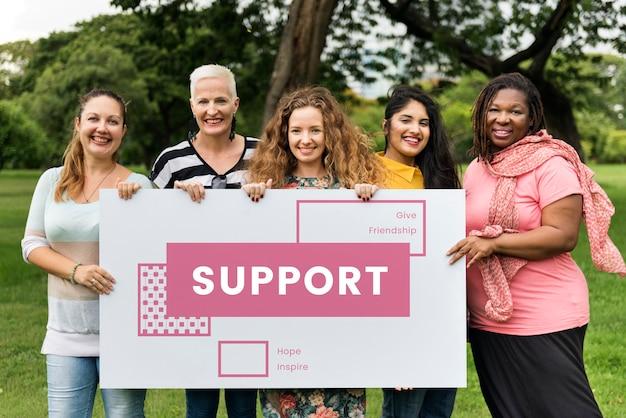 Steungroep voor vrouwen