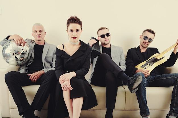 Stijlvolle muziekband