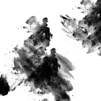 Stille wolken rotsen schets japan behang