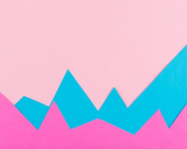 Stilleven papier grafisch arrangement