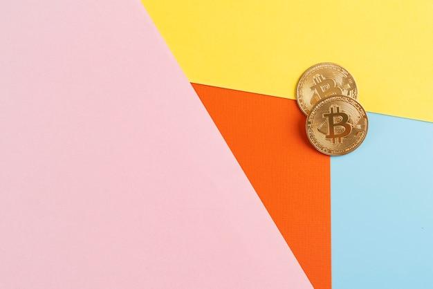 Stillevencompositie met cryptocurrency