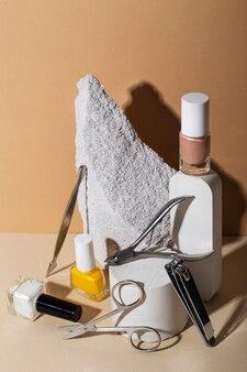 Stillevensamenstelling van nagelverzorgingsproducten