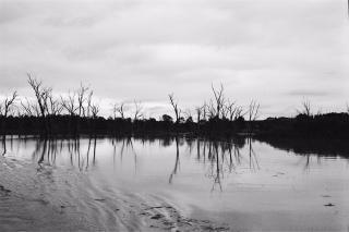 Stilstaand water, lucht
