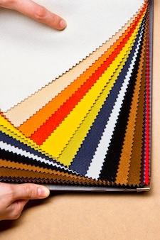 Stoffen textieltextuur
