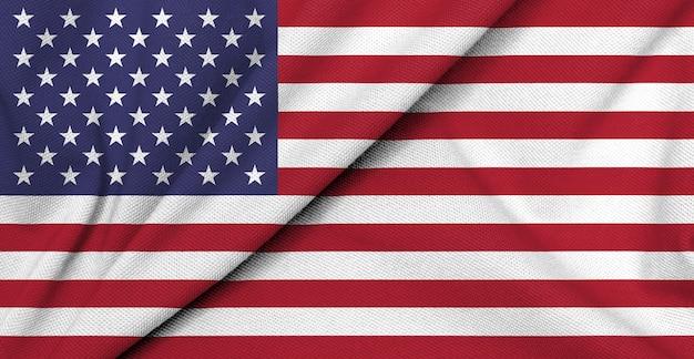 Stoffenvlag van verenigde staten, amerika