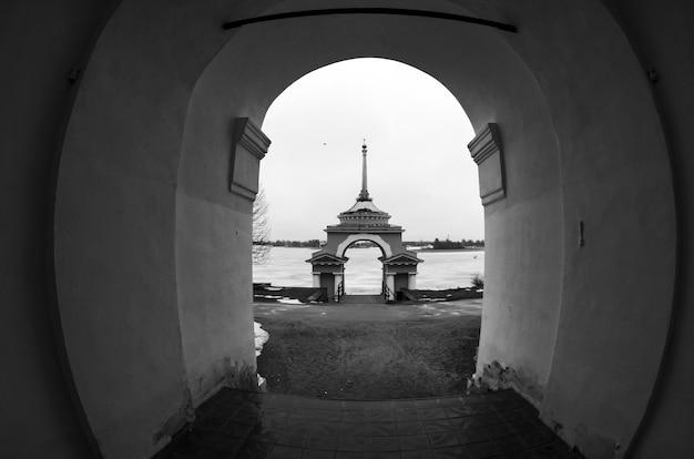 Stolobny-eiland, seliger-meer, rusland