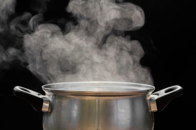 Stoom over de kookpot