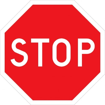 Stop stop weg straatnaambord