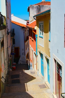 Straat in coimbra