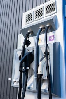 Straat opladen van elektrische auto's