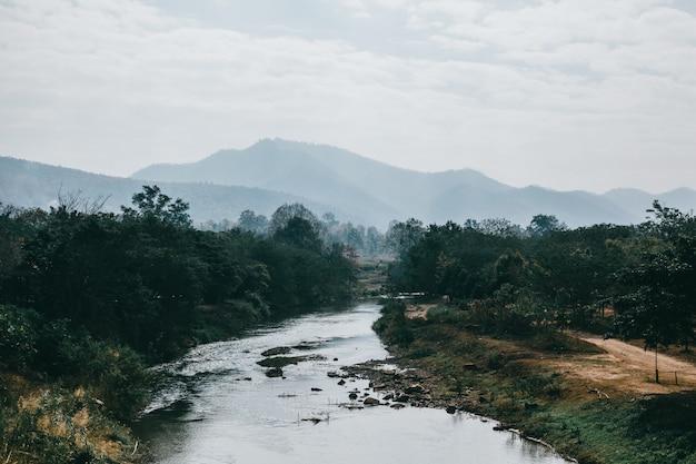 Straat thailand, de natuur