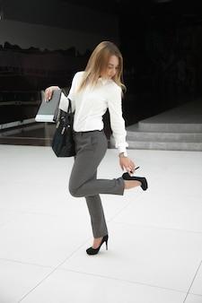 Strakke schoenen