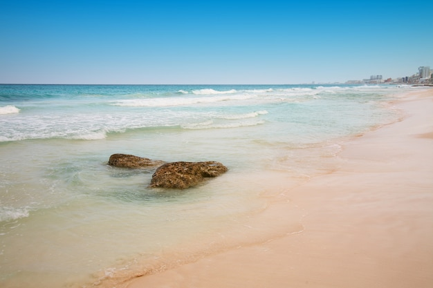 Strand in cancun, mexico