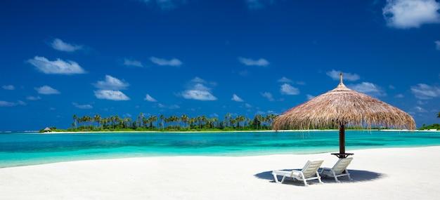 Strand in de maldiven