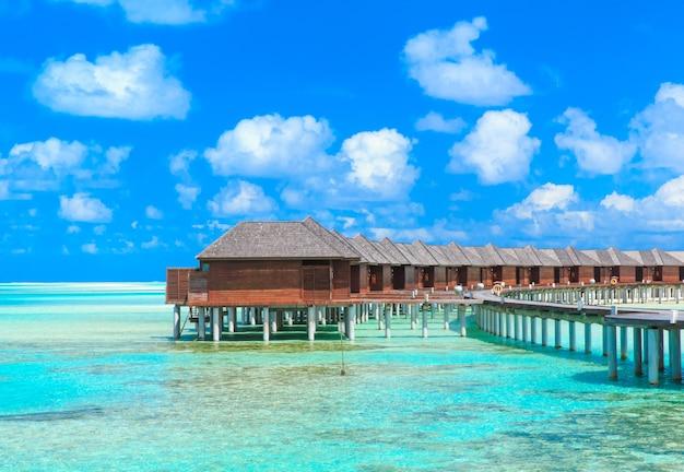 Strand met de maldiven