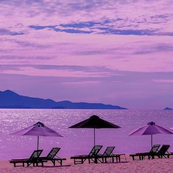 Strand oceaan reisconcept vietnam