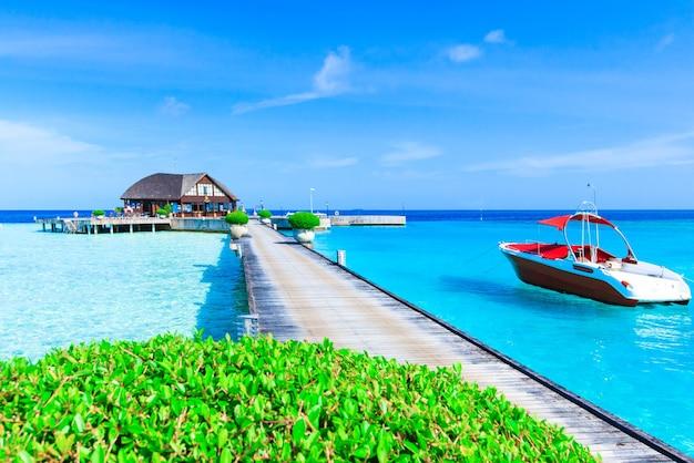 Strand op de malediven