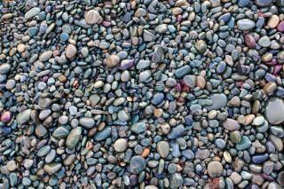 Strand rotsen rotsachtige