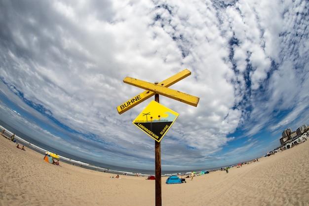 Strand teken