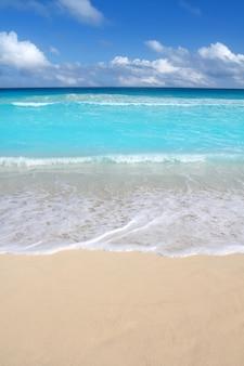 Strand tropische verticale caraïbische turkooise overzees