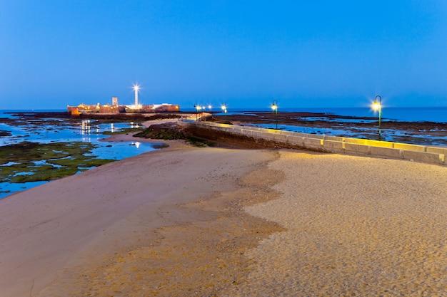 Strand van la caleta van cadiz