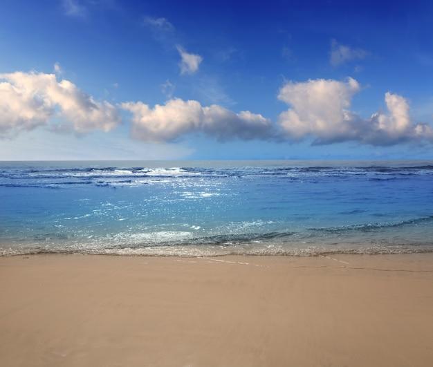Strand van maspalomas playa del ingles op gran canaria