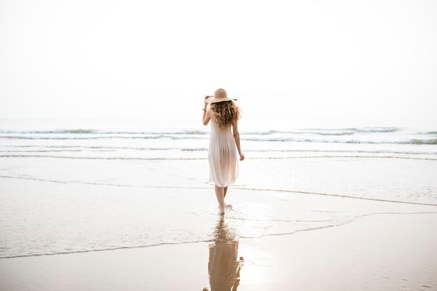 Strand zomervakantie vakantie reizen ontspanning concept
