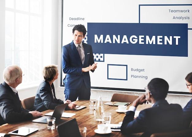 Strategie en plan is hulp bij bedrijfsontwikkeling