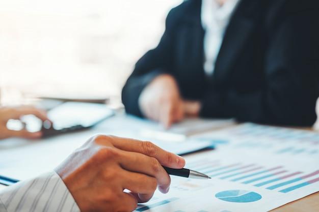 Strategieplanning met nieuw startup projectplan