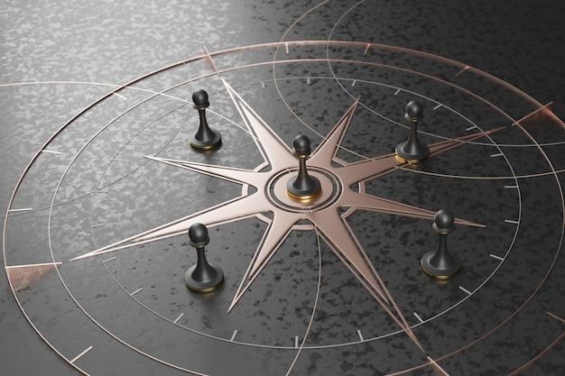 Strategische zaken, het overwinnen van concurrentenconcept