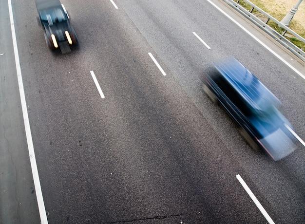 Streetracers op een weg