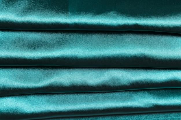 Strepen van blauwe stof