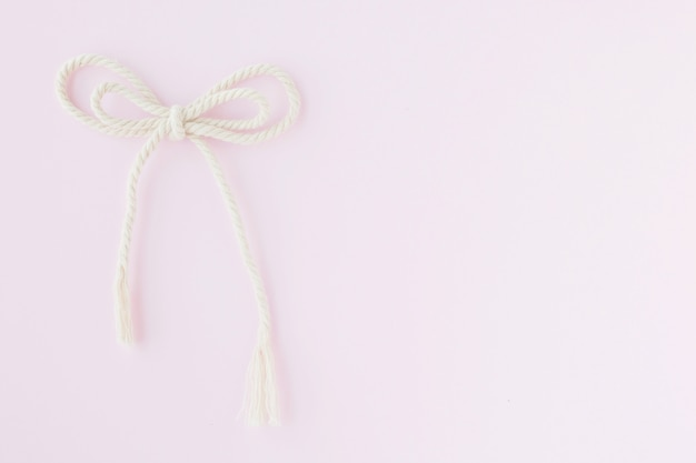 Strijklint op roze achtergrond