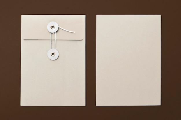 String envelop met kopie ruimte