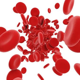 Stroom van bloedcellen
