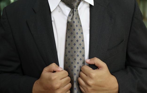 Stropdas van zakenman
