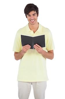 Student met laptop