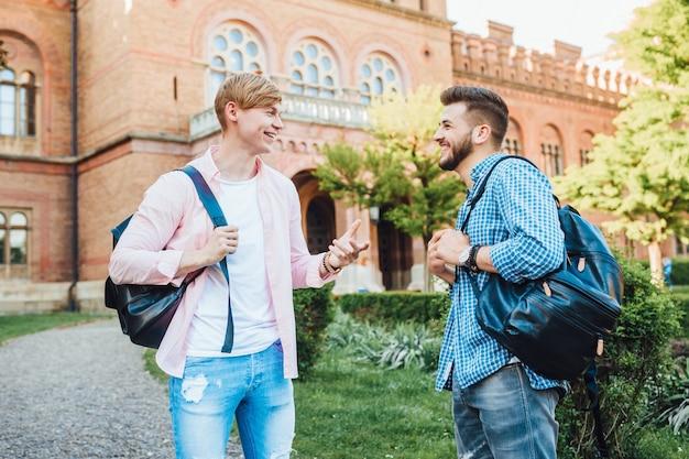 Studenten aan de universiteit