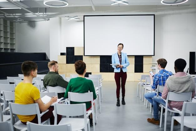 Studenten raadplegen