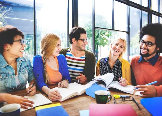 Studiegroep van studenten