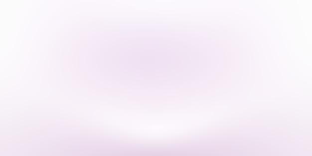 Studio achtergrond concept - abstracte lege lichte gradiënt paarse studio kamer achtergrond voor product. effen studio-achtergrond.
