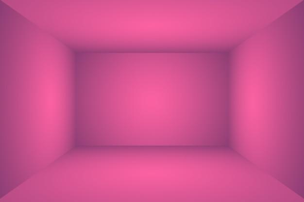 Studio achtergrond concept abstracte lege lichte gradiënt paarse studio kamer achtergrond voor product p...