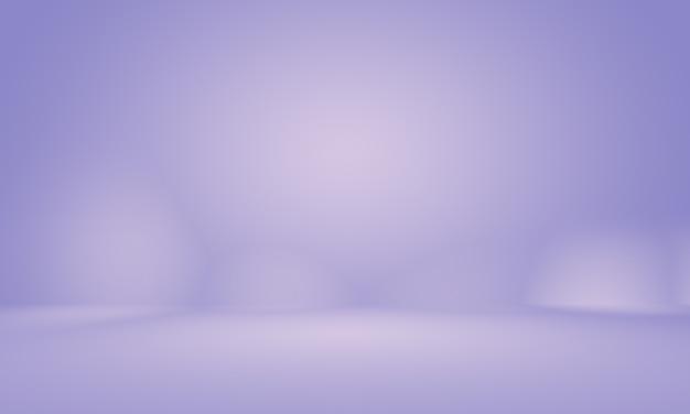 Studio achtergrond concept abstracte lege lichte gradiënt paarse studio kamer achtergrond voor product