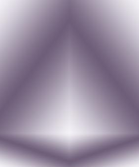 Studio achtergrond concept - abstracte lege lichte gradiënt paarse studio kamer achtergrond voor product.